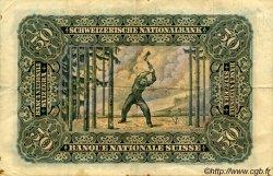 50 Francs SUISSE  1929 P.34d TB+