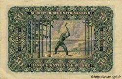 50 Francs SUISSE  1929 P.34d TTB