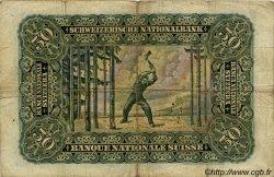 50 Francs SUISSE  1938 P.34h TB