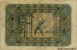 50 Francs SUISSE  1938 P.34h B+