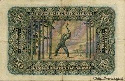 50 Francs SUISSE  1939 P.34j pr.TTB