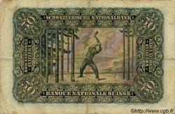 50 Francs SUISSE  1941 P.34l TB
