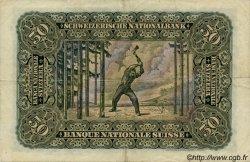 50 Francs SUISSE  1942 P.34m pr.TTB