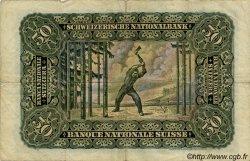 50 Francs SUISSE  1943 P.34n TTB