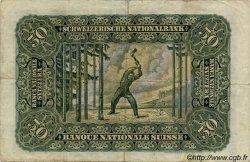 50 Francs SUISSE  1947 P.34o pr.TTB