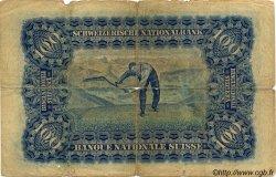 100 Francs SUISSE  1924 P.35a B