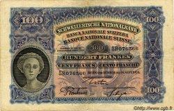 100 Francs SUISSE  1926 P.35b TB+