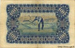 100 Francs SUISSE  1928 P.35e TB