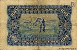 100 Francs SUISSE  1928 P.35e B+