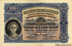 100 Francs SUISSE  1930 P.35f TTB