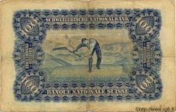 100 Francs SUISSE  1931 P.35g TB