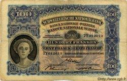 100 Francs SUISSE  1937 P.35i pr.TB