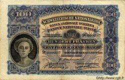 100 Francs SUISSE  1939 P.35l TTB