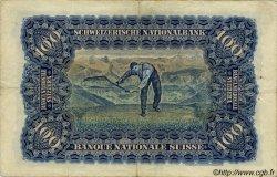 100 Francs SUISSE  1942 P.35n TTB
