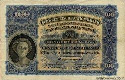 100 Francs SUISSE  1943 P.35o pr.TTB