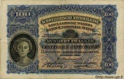 100 Francs SUISSE  1943 P.35p TTB
