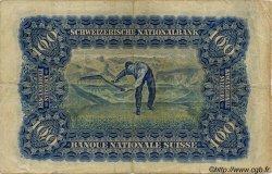 100 Francs SUISSE  1943 P.35p TB+