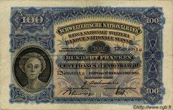 100 Francs SUISSE  1943 P.35q TTB