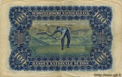 100 Francs SUISSE  1943 P.35q TB+