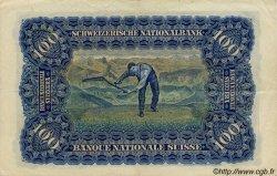 100 Francs SUISSE  1943 P.35q TTB à SUP