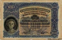 100 Francs SUISSE  1944 P.35r B