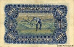 100 Francs SUISSE  1945 P.35s TTB