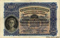 100 Francs SUISSE  1946 P.35t TTB