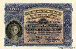 100 Francs SUISSE  1949 P.35v SUP+