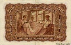 500 Francs SUISSE  1931 P.36b TTB+