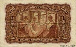 500 Francs SUISSE  1942 P.36d TTB