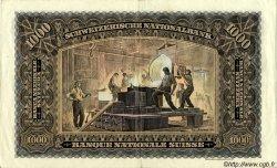 1000 Francs SUISSE  1931 P.37c TTB+