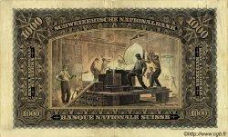 1000 Francs SUISSE  1931 P.37d pr.TTB