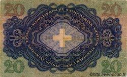 20 Francs SUISSE  1933 P.39d pr.TTB