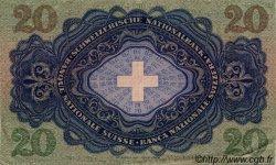 20 Francs SUISSE  1942 P.39l SUP+