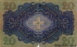 20 Francs SUISSE  1946 P.39o B+