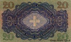 20 Francs SUISSE  1951 P.39s TB+