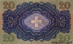 20 Francs SUISSE  1952 P.39t TTB