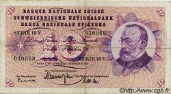 10 Francs SUISSE  1960 P.45f TB+