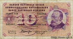 10 Francs SUISSE  1961 P.45g TB