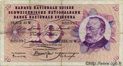 10 Francs SUISSE  1963 P.45h TB+