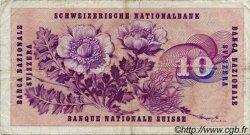 10 Francs SUISSE  1964 P.45i TB