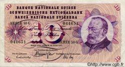 10 Francs SUISSE  1967 P.45l