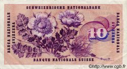 10 Francs SUISSE  1967 P.45l TTB+