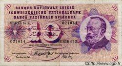10 Francs SUISSE  1970 P.45o TB