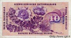 10 Francs SUISSE  1970 P.45o TTB