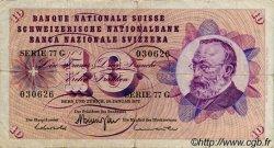 10 Francs SUISSE  1972 P.45q TB