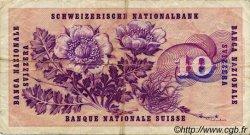 10 Francs SUISSE  1973 P.45r TB