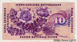 10 Francs SUISSE  1973 P.45r TTB