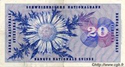 20 Francs SUISSE  1956 P.46d TTB
