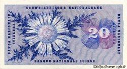 20 Francs SUISSE  1956 P.46d SUP